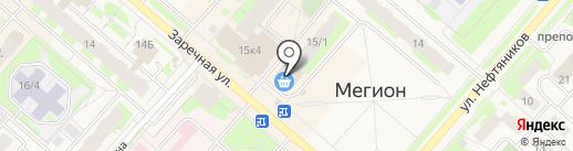 ТехноПлат на карте Мегиона
