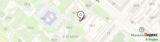 Мега друг на карте Мегиона