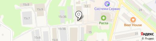 Бильярдный клуб на карте Мегиона