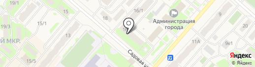 Городская библиотека №1 на карте Мегиона