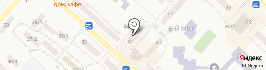 Служба обеспечения, МКУ на карте Мегиона