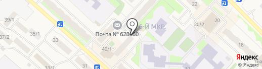Лилия на карте Мегиона