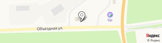 Автобан-Ямал на карте Мегиона
