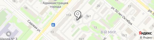 Кондитерская фабрика на карте Мегиона