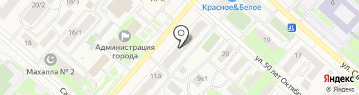 Нотариусы Кречетова Л.Г. и Штейникова Е.В. на карте Мегиона