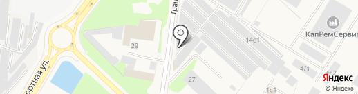 Автомойка 24 на карте Мегиона