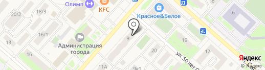 Риком-Траст, ЗАО на карте Мегиона