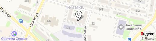 Ханты-Мансийский негосударственный пенсионный фонд на карте Мегиона