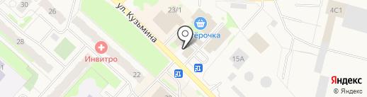 Нижневартовский районный ветеринарный центр на карте Мегиона