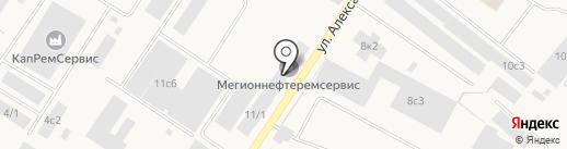 Банкомат, Сбербанк, ПАО на карте Мегиона