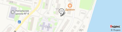 Банкомат, Ханты-Мансийский банк на карте Мегиона