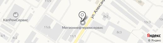 Банкомат, Сбербанк России на карте Мегиона