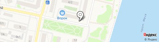 Почтовое отделение №1 на карте Мегиона