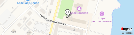 Банкомат, Альфа-банк на карте Мегиона