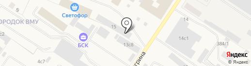 Спецмонтаж-2, ЗАО на карте Мегиона