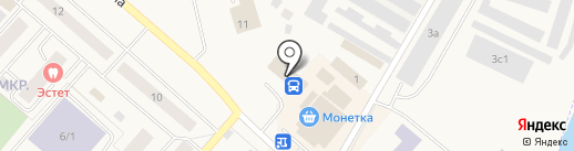 Автовокзал на карте Мегиона