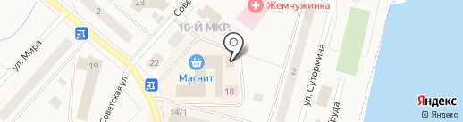 Любимый на карте Мегиона