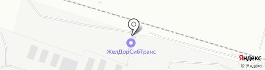 ЖелДорСибТранс на карте Нижневартовска