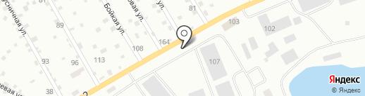 Cars на карте Нижневартовска