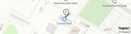 Московские Матрасы на карте Нижневартовска
