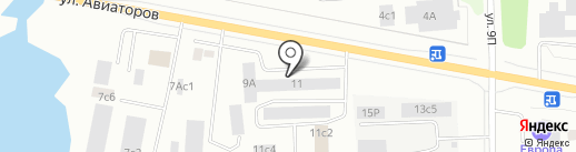 Авантел на карте Нижневартовска