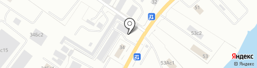 Автомастерская на карте Нижневартовска