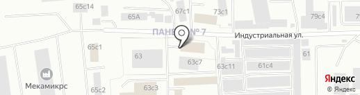 Спецтехком на карте Нижневартовска