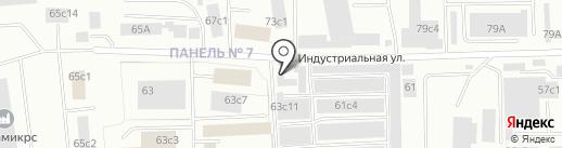 Изобретатель на карте Нижневартовска