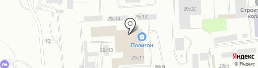 КОНТАКТ на карте Нижневартовска