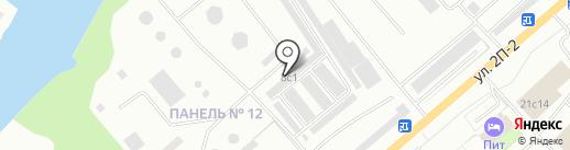 Для ВАЗ на карте Нижневартовска
