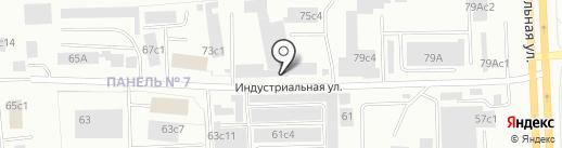 Форд на карте Нижневартовска