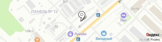 Мотор на карте Нижневартовска
