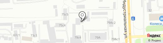 ВартАвто-Сервис на карте Нижневартовска