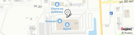 Микс на карте Нижневартовска