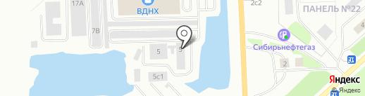 Сибтекком, ЗАО на карте Нижневартовска