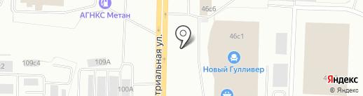 86бургер на карте Нижневартовска