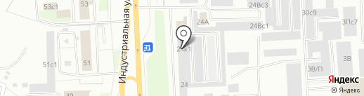 Север-Авто на карте Нижневартовска