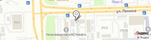 Сеть магазинов чехлов для автомобилей на карте Нижневартовска