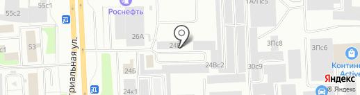 Сибтрансойл на карте Нижневартовска