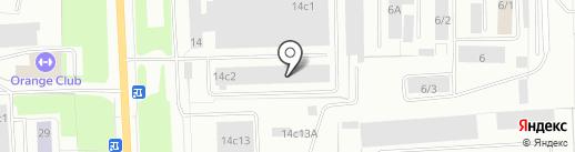 Альянс-Авто на карте Нижневартовска
