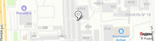 Север-МОТО на карте Нижневартовска