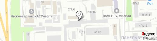Строй+ на карте Нижневартовска