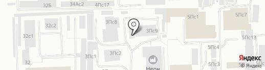 Сарос, ЗАО на карте Нижневартовска