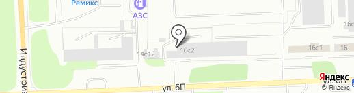 К-1 на карте Нижневартовска