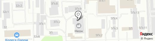 Нильс на карте Нижневартовска