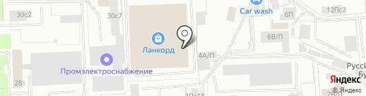 Жасмин на карте Нижневартовска