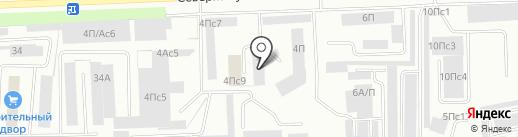 Деловита на карте Нижневартовска