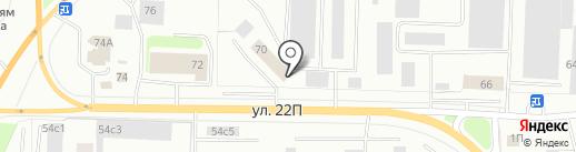 ДИЗЕЛЬ на карте Нижневартовска