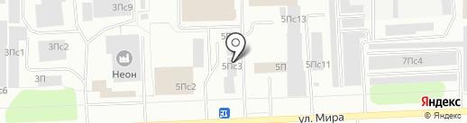 Учебная книга на карте Нижневартовска