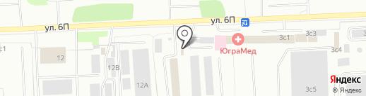Ремонт Авто на карте Нижневартовска